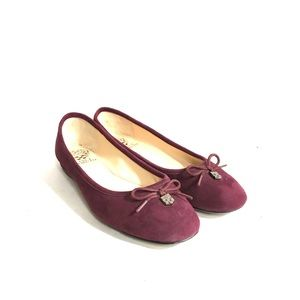 Vince Camuto Mulberry leather flats